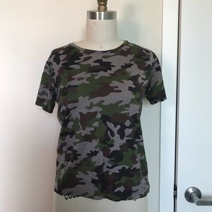 73c597829079a7 Saint Laurent camo t shirt